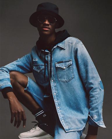 Calvin Klein Fashion photography production - Demin stills - Cape Town