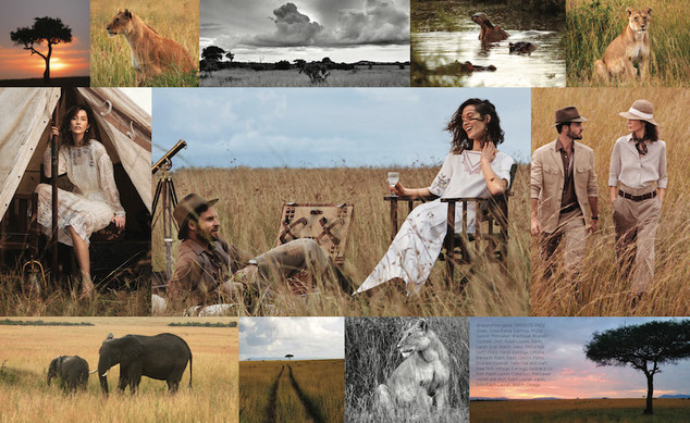 US Harpers Bazaar magazine photography - Produced in Kenya