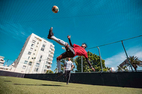 Adidas football in Cape Town