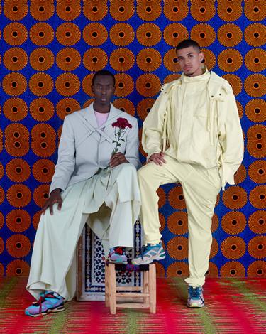 Louis Vuitton Morocco production - 2 men