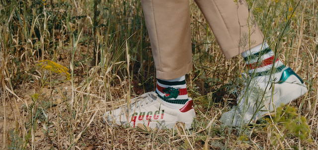 Gucci socks and shoes - film and image campaign produced in Tunisia