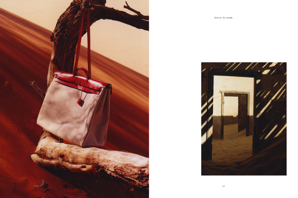 Hermes Fashion Handbag - Photographed in Namibia