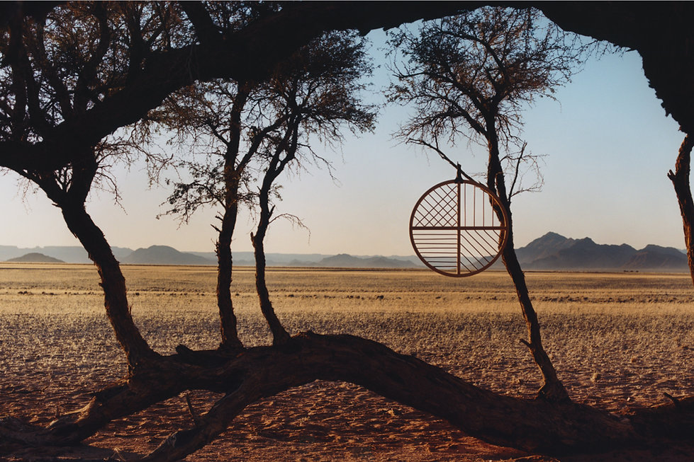 Hermes Fashion Campaign - Produced in the Namibia Desert