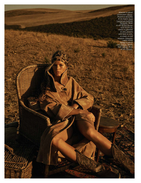 April issue of Vogue Paris - Produced in Cape Town