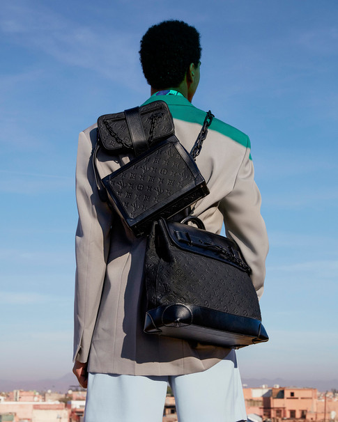 Louis Vuitton fashion photography - Footprints campaign produced in Morocco