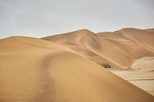 Paco Rabanne photoshoot produced in the Namib Desert