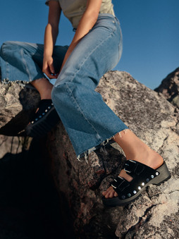 Calvin Klein Fashion Production - Stills - trousers and shoes