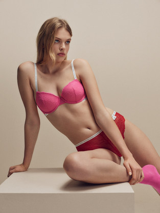 Calvin Klein Fashion - woman in lingerie - Photography production