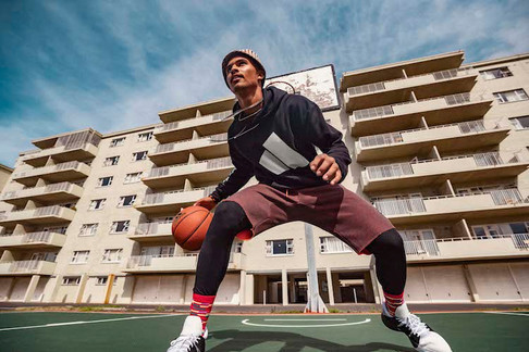 Adidas baskteball shoot produced in  Cape Town