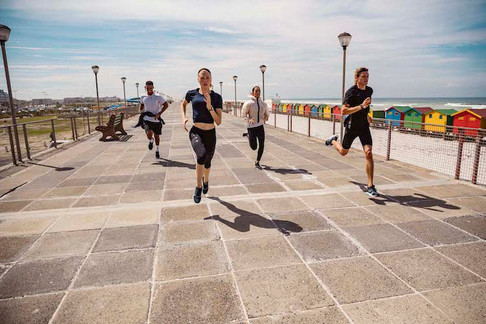Adidas running apparel - produced in Cape Town