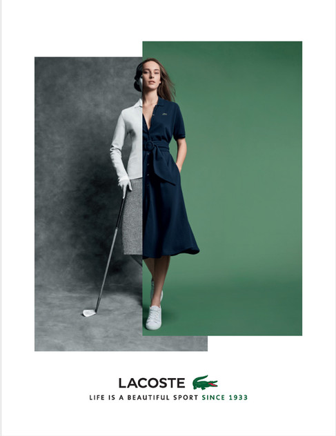 Lacoste Fashion Shoot in Cape Town
