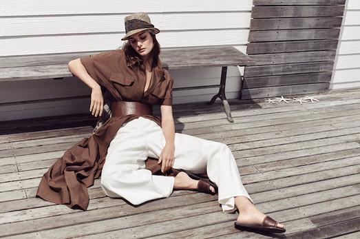 Brunello Cucinelli fashion campaign - Cape Town