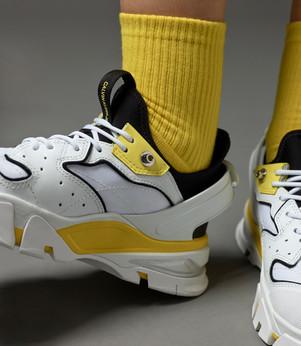 Calvin Klein Yellow Socks - Photography campaign