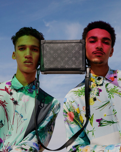 Louis Vuitton bag - international fashion photography production