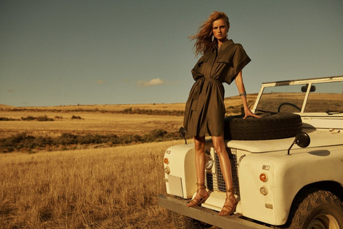 Massimo Dutti fashion photography