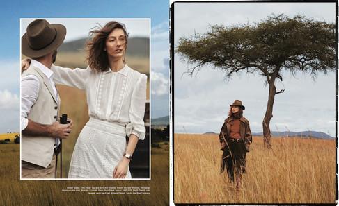 Harpers Bazaar - Kenya production - fashion magazine
