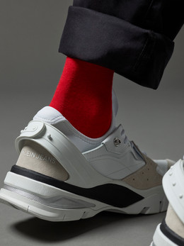 Calvin Klein Yellow Socks and shoes - Photography campaign