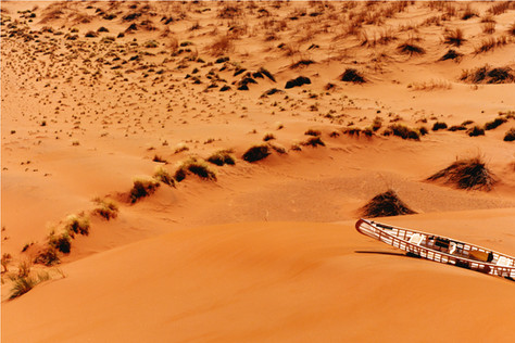 HERMES photoshoot - Namibian Desert Production