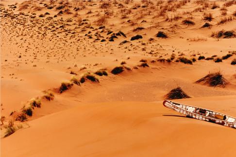 HERMES photoshoot - Namibian Desert Production