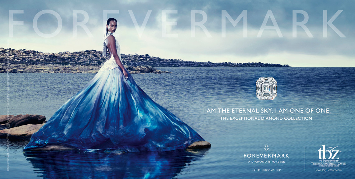 Forevermark Diamond campaign produced in Cape Town