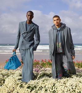 Louis Vuitton fashion production - 2 men