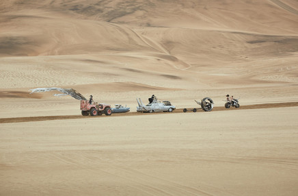 Paco Rabanne campaign inspired by Mad Max