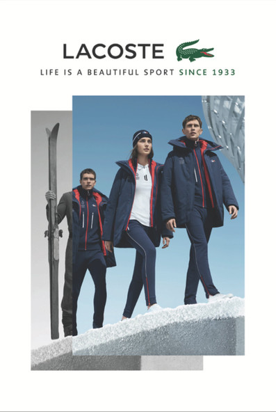 Lacoste Fashion Photography Production in  Cape Town, South Africa