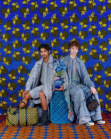 Louis Vuitton -  bold color production