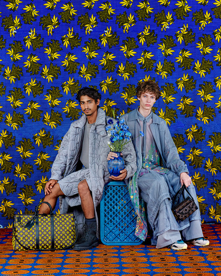 Louis Vuitton -  bold color production