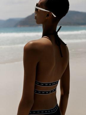Calvin Klein Photo Shoot in Cape Town - on the beach