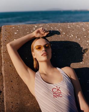 Calvin Klein fashion photography - Cape Town - woman in swim suit