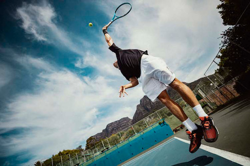Adidas Tennis apparel - photography and production in  Cape Town