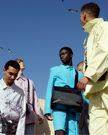 Louis Vuitton Footprints photoshoot - produced and shot in Morocco