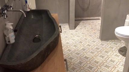 Badkamer met Prachttegels