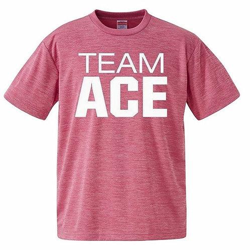 格言有/第3弾TEAM ACEシャツ!(ピンク)