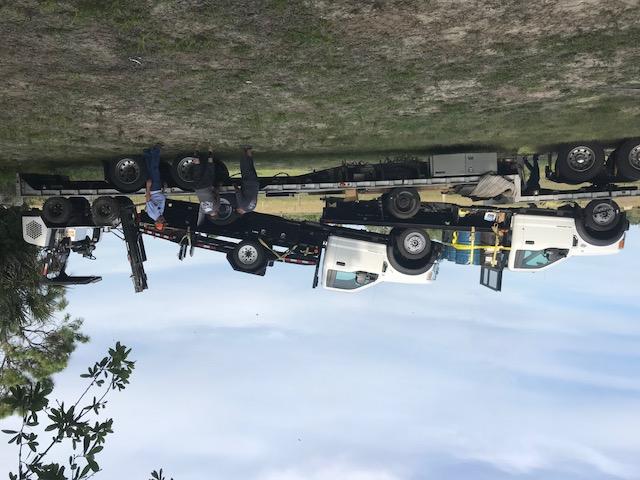 On 2 trucks