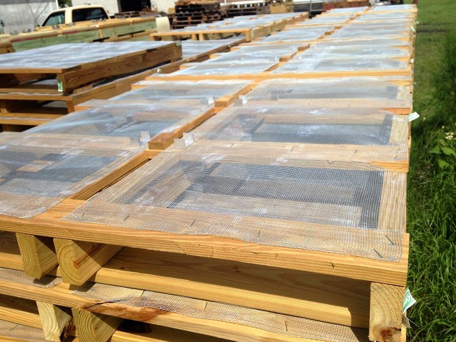6 way screen pallets