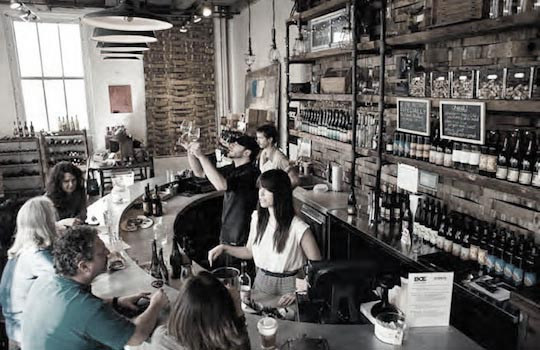 Brooklyn Oenology Tasting room