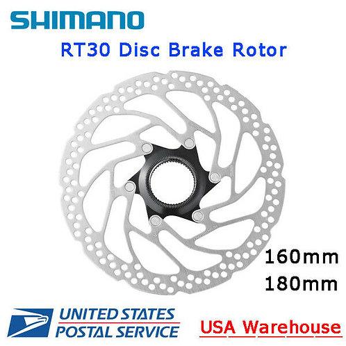Shimano SM-RT10 SM-RT30 Rotor Disc Brake Rotor Center Lock 160mm 180mm MTB
