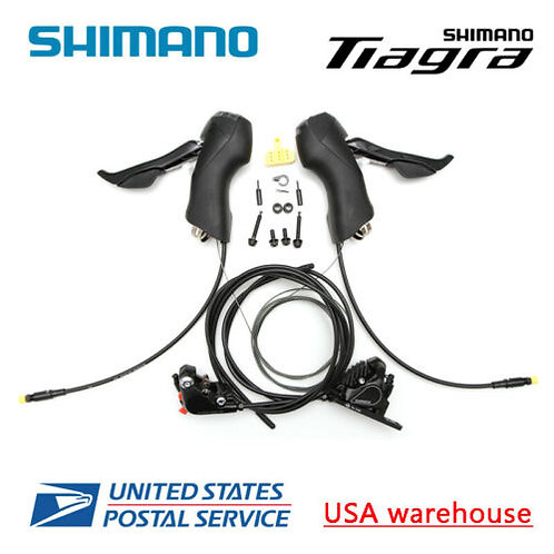 Shimano Tiagra 4700 ST-BR-RS405 2x10s Hydraulic Road Bike Disc Brake Lever Set