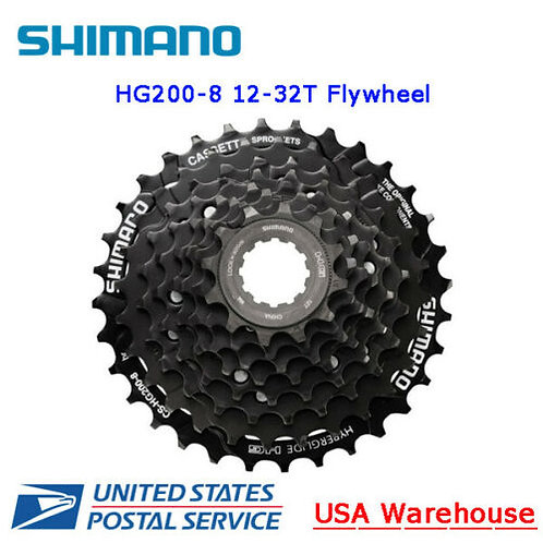 Shimano Tourney TX CS-HG200 8-Speed 12-32T HYPERGLIDE Cassette Sprocket MTB