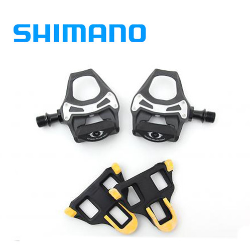 abdfb627f08 Shimano 105 PD-5800 SPD-SL Pedal Carbon with SH11 Cleats 285G
