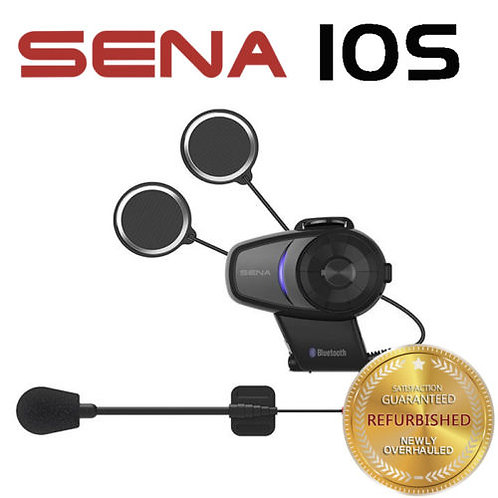 SENA 10S Motorcycle Bluetooth Headset  Intercom with Microphone