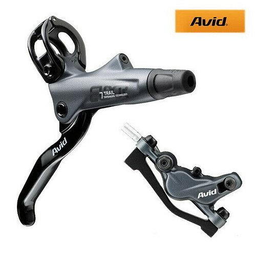 Avid E7 Elixir 7 Trail Hydraulic Disc Brake Set Front & Rear Set MTB