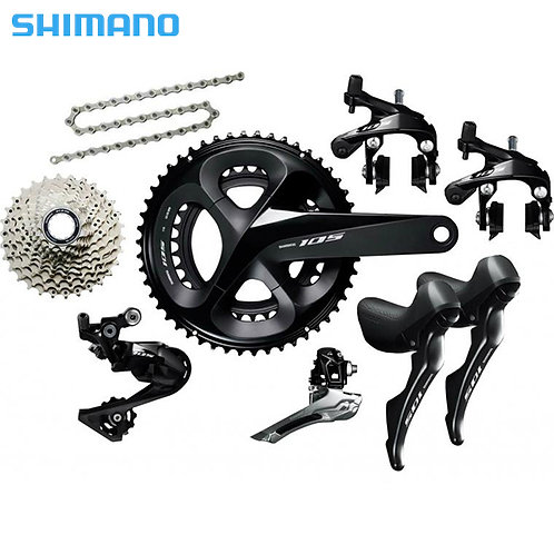 Shimano 105 R7000 22 Speed Groupset 170mm 34/50T 28T Cassette