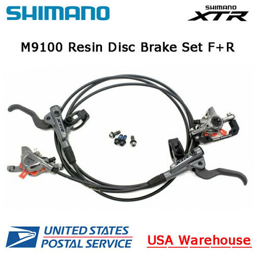 SHIMANO XTR BL-BR-M9100 2 Piston Hydraulic Disc Ice Tech Brake Set F&R OE