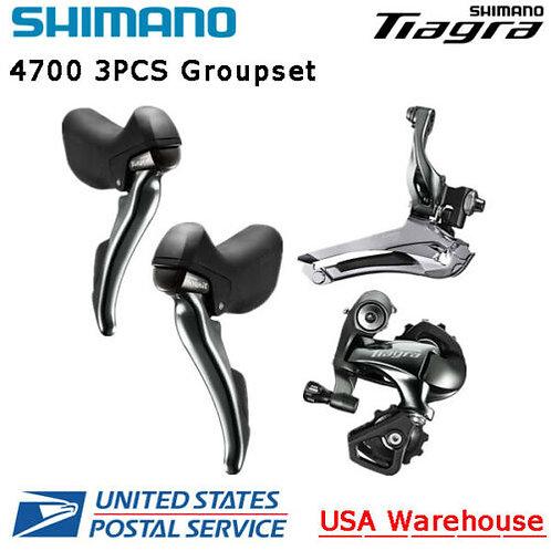 Shimano Tiagra 4700 3PCS 2x10 Gorupset Front Rear Derailleur Brake Lever ROAD