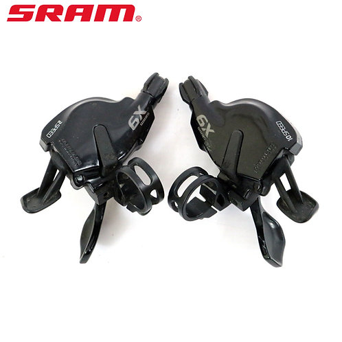 Sram X9 Trigger Shifters Set Front & Rear 2x10 Speed W/Clamp  Old