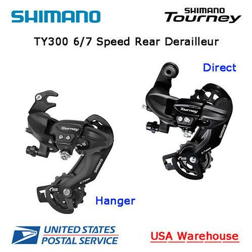 Shimano Tourney RD-TY300 6 / 7 Speed Hanger / Direct Rear Derailleur MTB