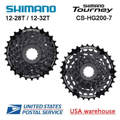 Shimano Tourney CS-HG200-7 7-Speed Cassette 12-28T 12-32T (OE)